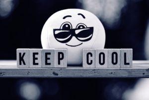 keep cool, smiley, cool